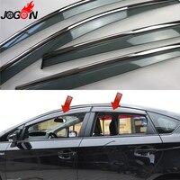 For Toyota Prius XW30 2011 2012 2013 2014 2015 Window Sun Rain Visors Vent Shade Deflector