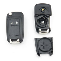 Hot Sale For Opel Insignia Astra J 2 Button Keyless Flip Fob Key Shell Case Remote