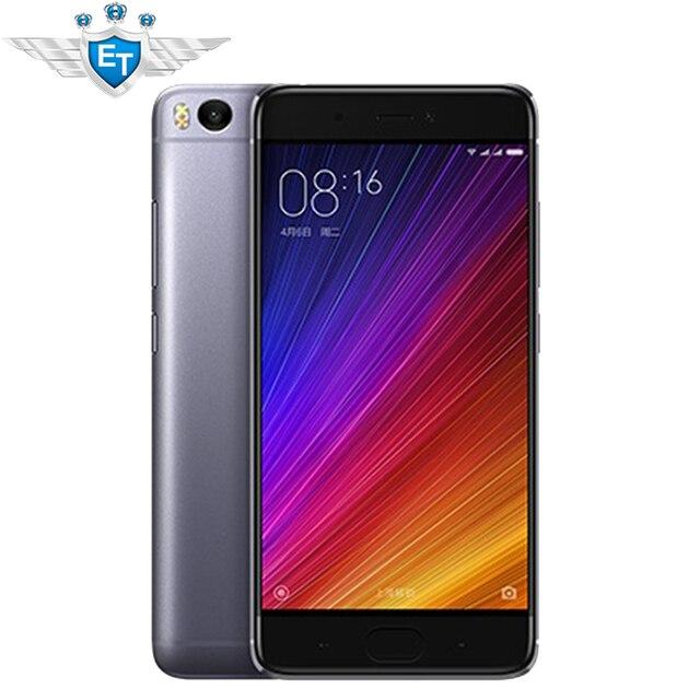 Оригинал Xiaomi Mi5S Премьер 5.15 ''Cell телефоны Snapdragon 821 Quad Core 4 ГБ RAM 128 ГБ IMX378 ROM 12MP Камеры отпечатков пальцев NFC
