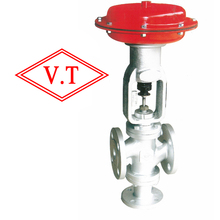 Automatic Diaphragm type Three way Control Valve  (pneumatic steam valve)(VT control valve)