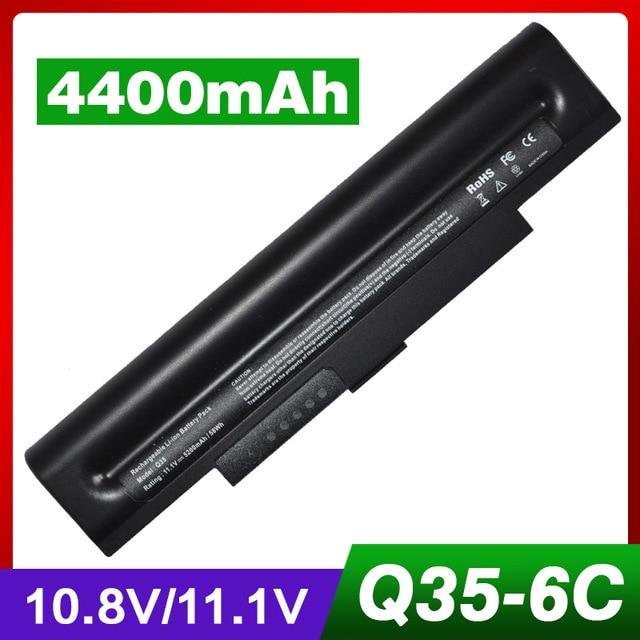 4400mAh Laptop Battery For Samsung A Q70 Q35 AA PB5NC6B AA PB5NC6B/E NP Q45 NP Q35 NP Q70 Q35 Q45