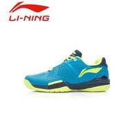 Li Ning Men S Anti Skid Tennis Shoes Comfortable Lace Up Hard Wearing Stability Flexible Sports