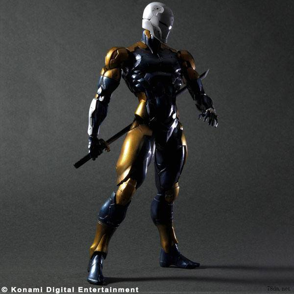 11 Play Arts Kai Gray Fox Cyborg Ninja Frank Jaeger Hunter Deepthroat Metal Gear Solid harley joker PVC action Figure Model Toy metal gear solid v the phantom pain play arts flaming man action figure super hero