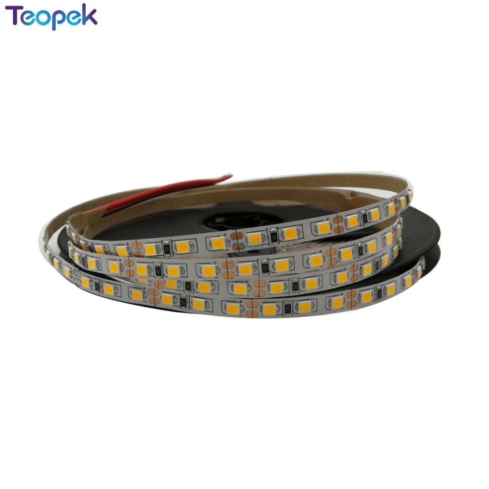 5M 2835 SMD LED Strip 600 Led 5mm Width 12V Flexible120 Led/m LED Tape, White/warm White/blue/green/red/yellow