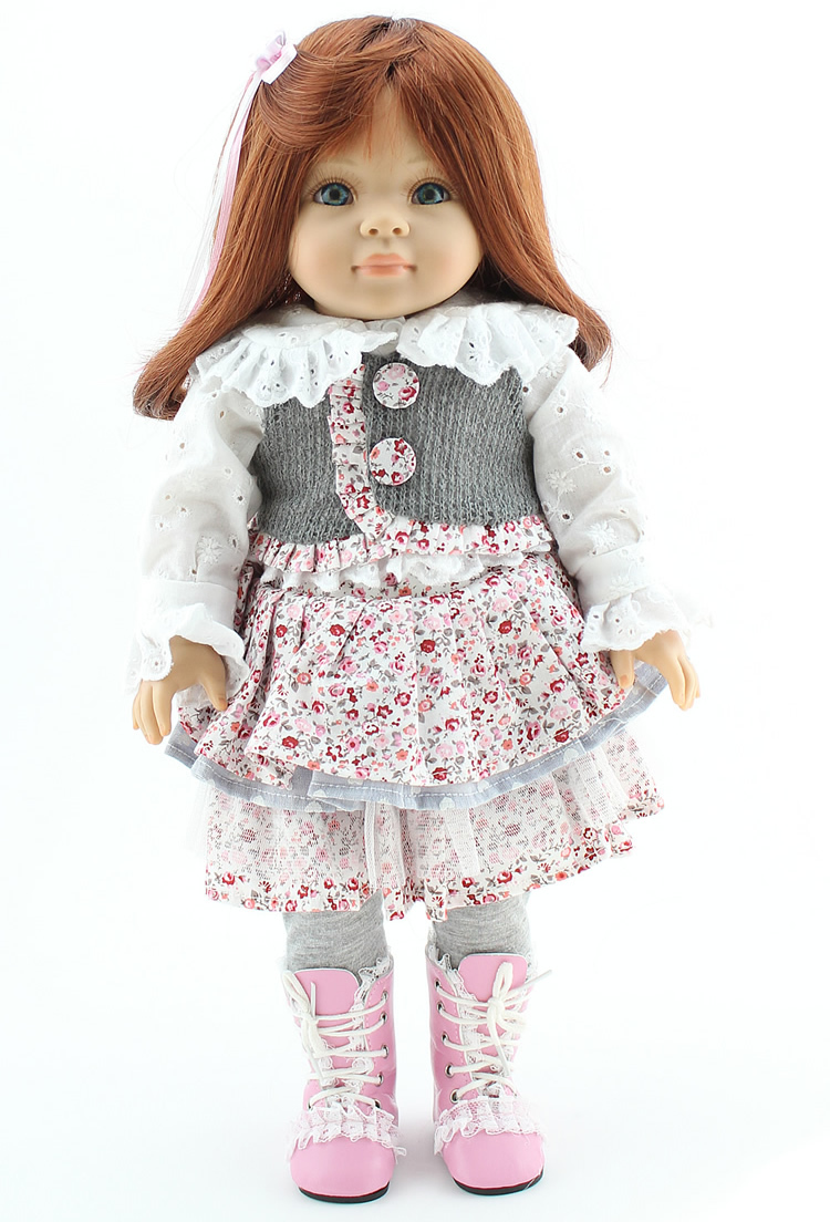 American girl doll Vinyl lifelike baby doll toys play house girl brinquedos pricess kid children birthday christmas gifts lifelike american 18 inches girl doll prices toy for children vinyl princess doll toys girl newest design