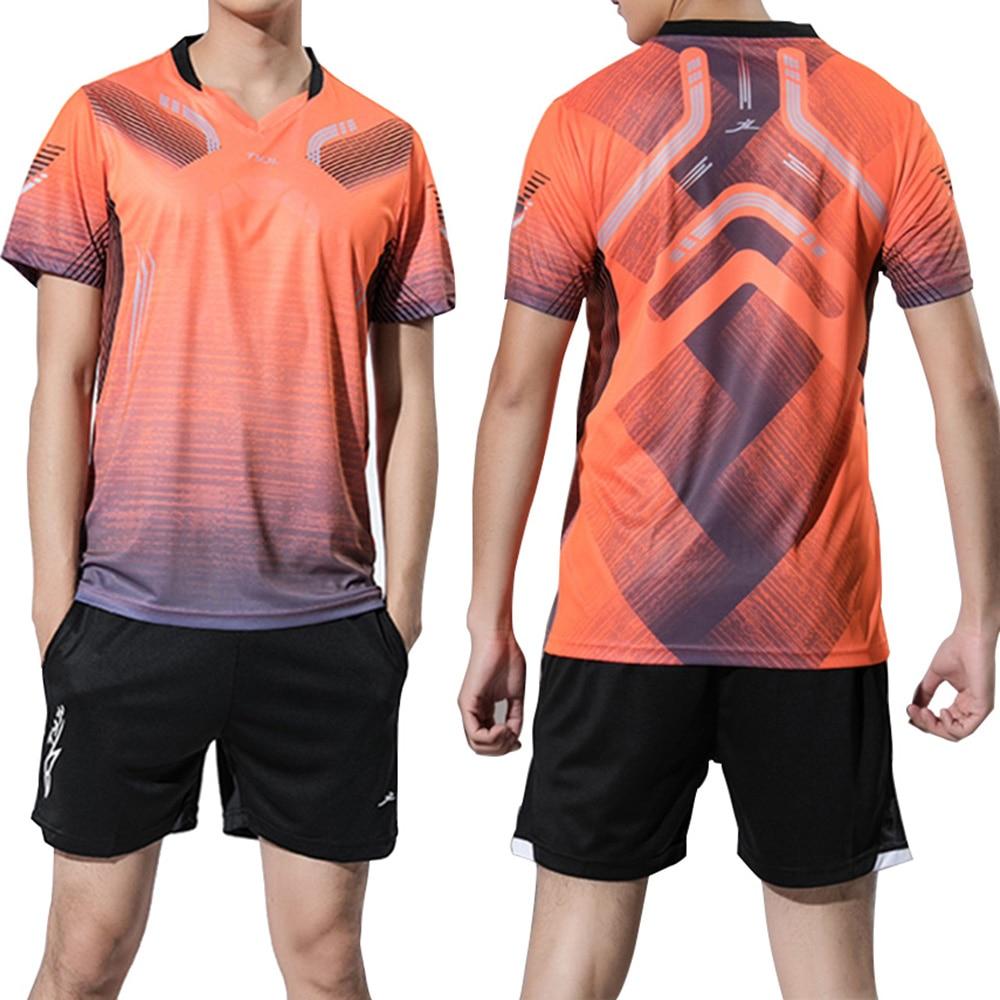 цена на New Badminton clothes Men , sports badminton clothes , Tennis wear sets , Qucik Dry Tennis shirts + shorts ,sport wear tracksuit
