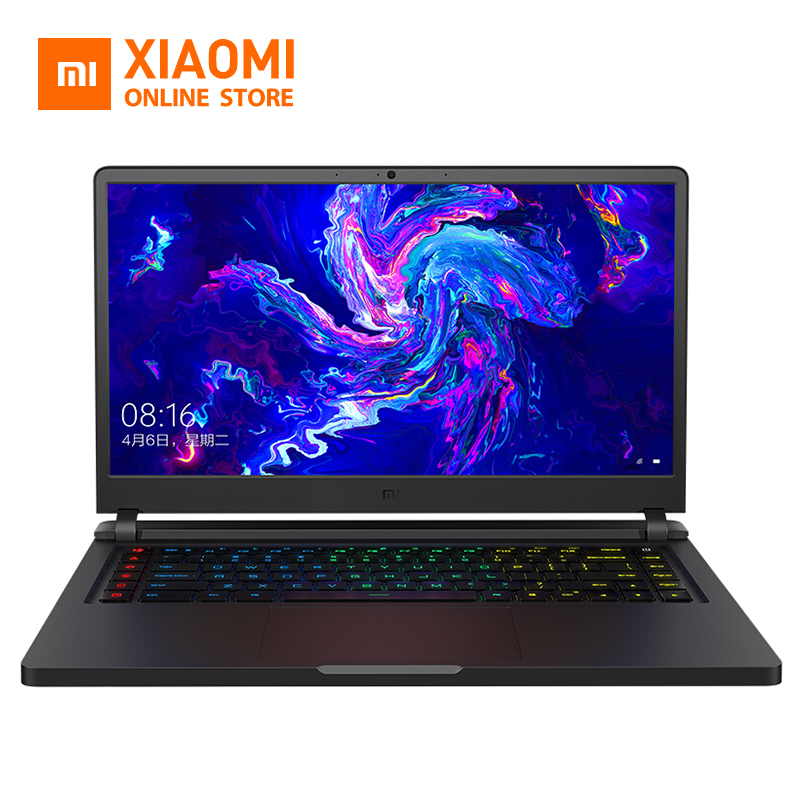 In Stock Original Xiaomi Gaming Laptop 15.6 inch Mi Notebook 8th Enhance SSD 256G+1TB Hexa Core 16GB 4.1GHz GTX 1060 Computer PC(China)