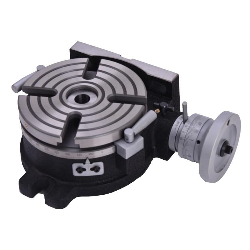 Rotary 150mm Dia Mill & Máquina Da Broca de Trabalho de Mesa