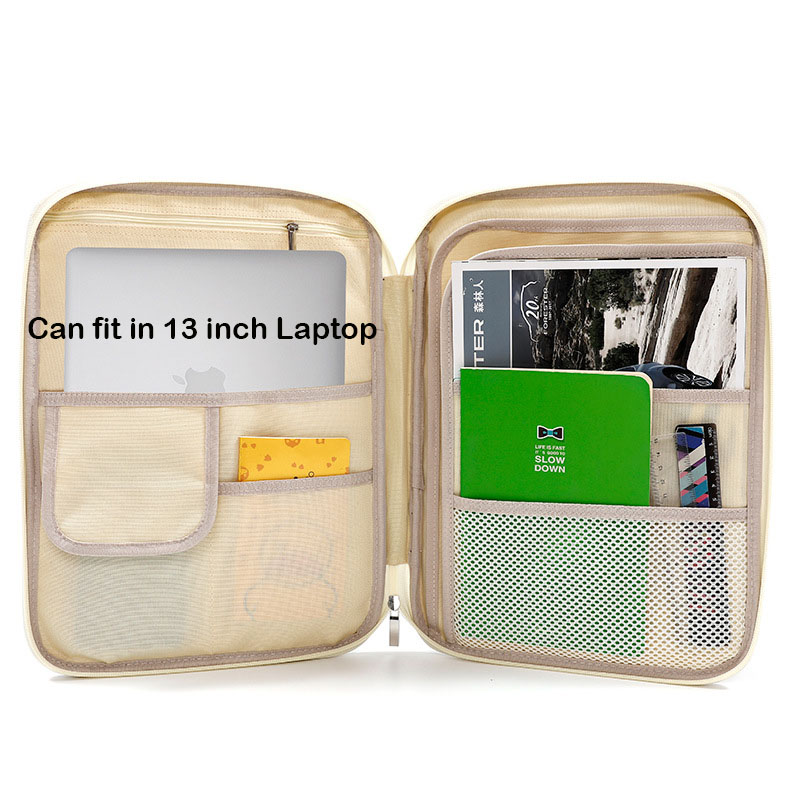 Image 4 - Printing Business 13 Inch Briefcase Large File Holder Document Organizer Portfolio Filing Holder Office Book Folder Storage Case-in File Folder from Office & School Supplies