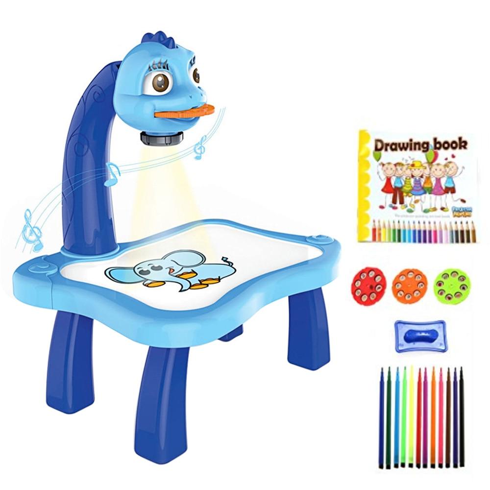 criancas projetor inteligente pintura desenho projetor mesa 01