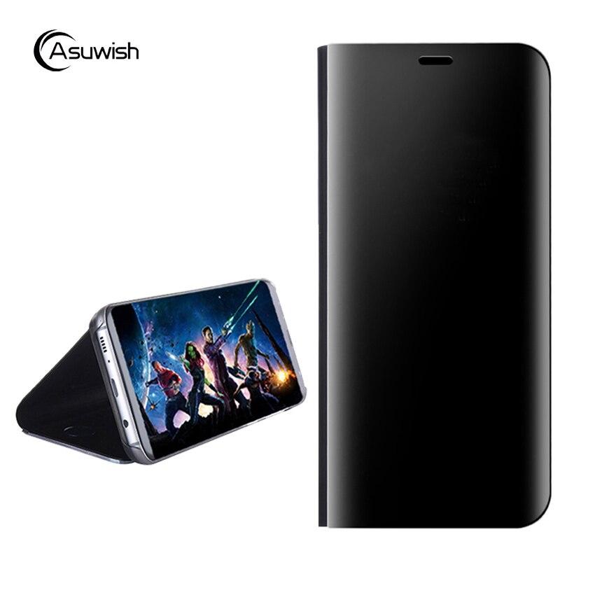 Flip cubierta de cuero caso de teléfono para Samsung Galaxy S6 S7 borde Nota 5 Note5 S 6 7 7 borde 6 borde 7 s SM-G920F SM-G925F SM G930F G935F