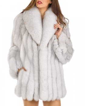 Hot Sale New Arrival Winter Faux Fur Coat Fashion Celebrity Evening Party Elegant Women Outerwear Warm