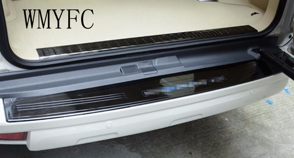 Rear Bumper Protector Tail Trunk Guard Sill Plate Scuff Trim Cover For Toyota Prado 2700 2010 2011 2012 2013 2014-2018 5 seats motorcycle radiator grill grille guard screen cover protector tank water black for bmw f800r 2009 2010 2011 2012 2013 2014