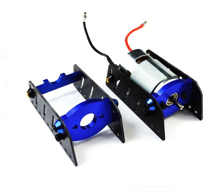 RC Boat 775 motor bracket fixed mount holder seat CNC metal stents /775 motor