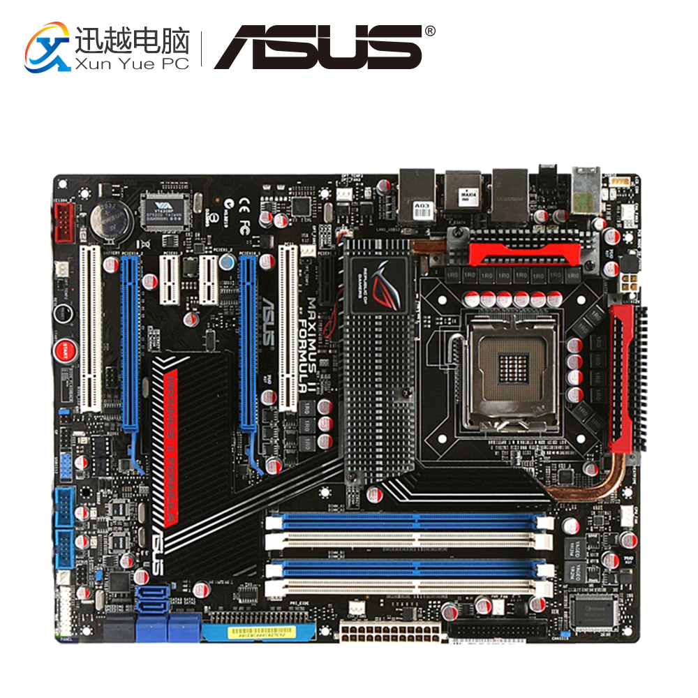 Asus Maximus II Formula Desktop Motherboard M2F P45 Socket LGA 775 DDR2 SATA2 USB2.0 ATX цена