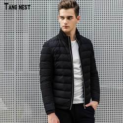 Tangnest men down coat 2017 new winter men s solid stand collar white duck down jacket.jpg 250x250