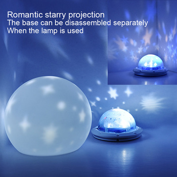 creative nordic christmas deer the merry go round dandelion moon lamp milky way a night light 3Color USB Rechargeable Moon star projector Lamp Christmas holiday table Night Light Decor bulb Creative Bedroom Gift Luminaria