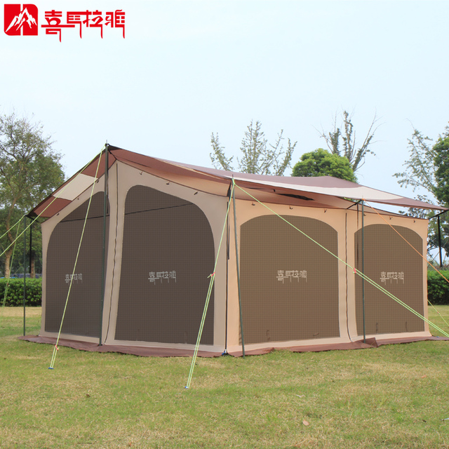 Family C&ing Tent Outdoor Oversized Multifunctional Traveling C&ing tent All Seasons for C&ing Hiking & Family Camping Tent Outdoor Oversized Multifunctional Traveling ...