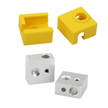 Heater Blocks with Silicone Socks
