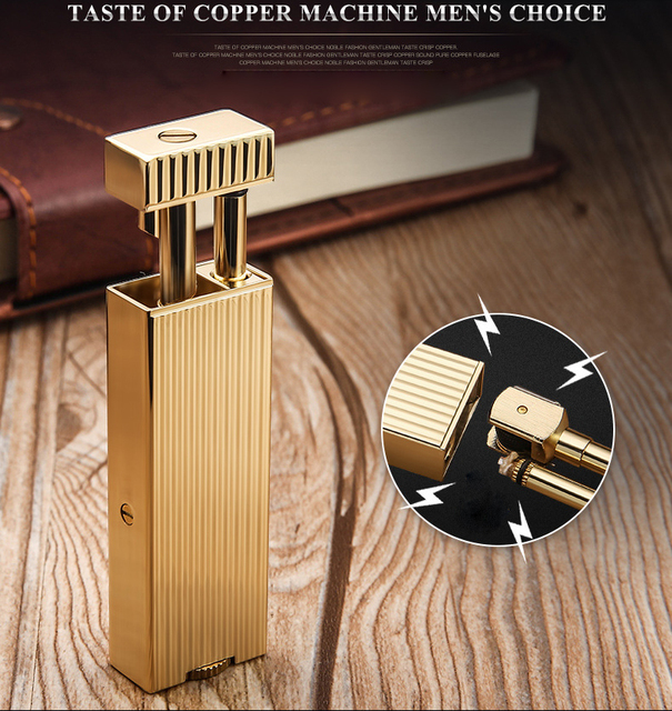 Million Matches Brass Gasoline Lighter8
