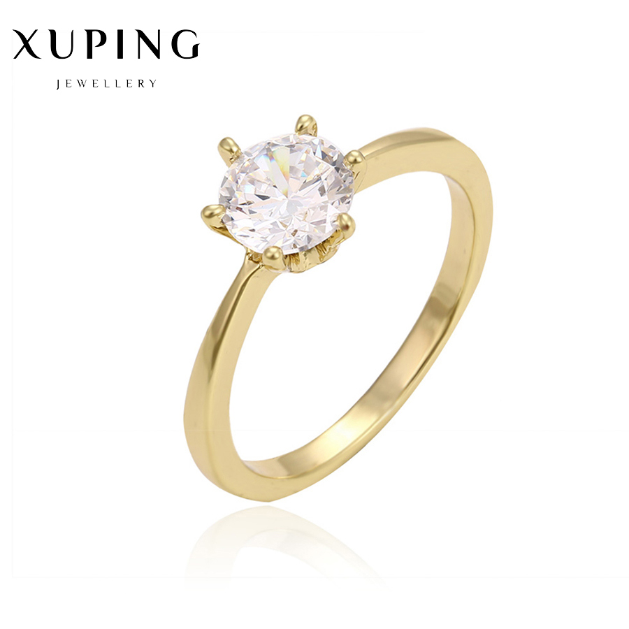 Engagement Women Costume Jewellry Rings Precious Stone Designer Gold Color  Lady Clothing Accessories Jewelry Ring Giftsc017334