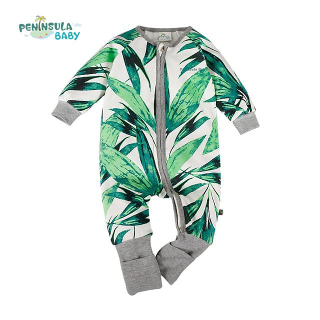 Venta caliente de Los Bebés Del Mameluco Mono de Las Muchachas Niños Ropa de Bebé Recién Nacido Body Suit Floral Ropa de Manga Larga Otoño Invierno
