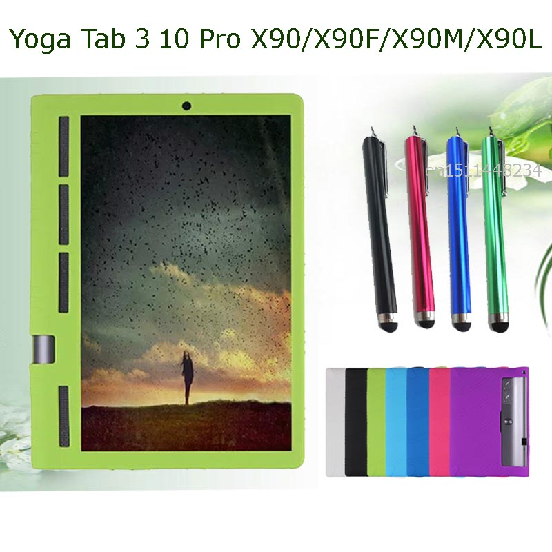 for Lenovo Yoga Tab 3 Pro 10.1 X90 case fashion Silicone case cover For Lenovo YOGA Tab 3 Pro 10 X90 YT3-X90F/L/M X90F X90L X90M ultra slim soft silicon case for 10 1 inch lenovo yoga tab 3 pro 10 x90m x90l case for lenovo yoga tab 3 plus yt x703f