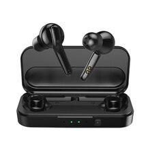 Mifa verdadeiro fones de ouvido wireless, fone de ouvido estéreo bluetooth 5.0, esportivo, com microfone, chamadas sem uso das mãos, caixa de carregamento