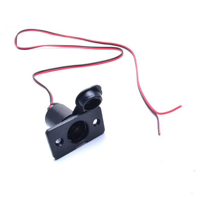 Auto Cigarette Lighter Charger Female Socket 3.2FT Extension Raw ...