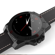 Smartwatch Smart Uhr N10A N10B K18 K8 Uhr Luxus Lederband mit Pedometer Hands Free Kompass für iOS Android Smartphone