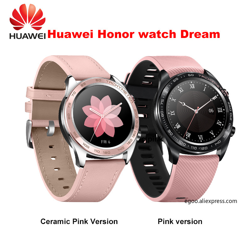 Huawei honor watch dream smartwatch 1 2 inch AMOLED touchscreen heartrate monitoring BT4 2 BLE GPS