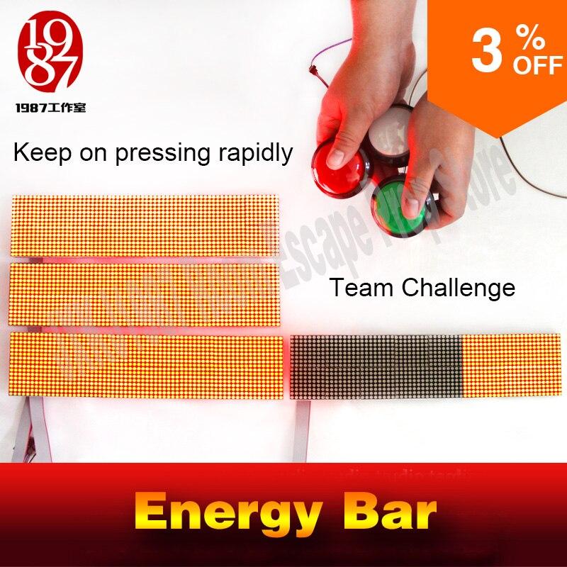 Évasion chambre jeu puzzle prop audio énergie incroyable bar à déverrouiller Réel-vie évasion roomTakagism le travail d'équipe challegeing jeu