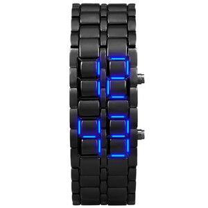 Image 2 - Aidis الشباب الساعات الرياضية مقاوم للماء الإلكترونية الجيل الثاني ثنائي LED الرقمية ساعة رجالي سبيكة شريط للرسغ ساعة
