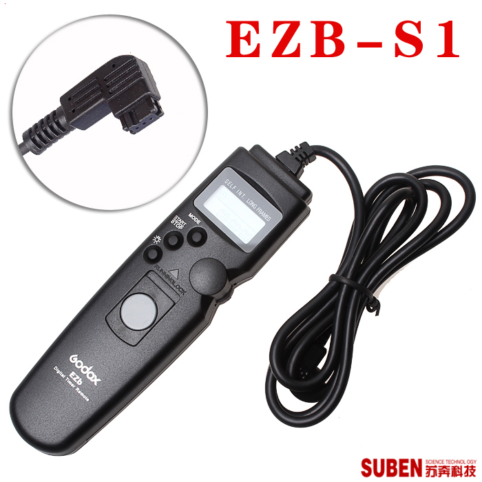 Godox Digital Timer Shutter Remote Controller Switch Cord EZb-S1 For <font><b>Alpha</b></font> DSLR-A100 SLR-200 SLR-300 SLR-<font><b>350</b></font> SLR-A700 image