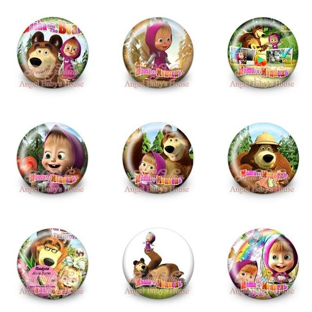 Mickey Avengers Mario Brooch Button