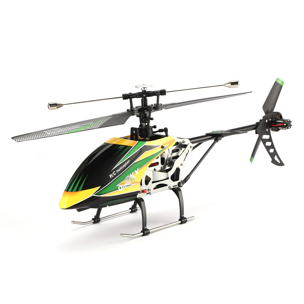 Hot! V912 RC Airplane Sky Dancer Aircraft 2.4GHz RTF Drone 4 Channel Single Blade RC Drone Model With Head Lamp Light RC Model все цены