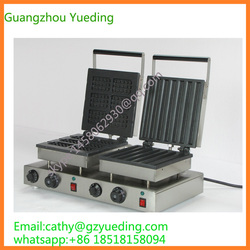 hot sale Rectangle waffle maker&churros waffle making machine with double head for sale