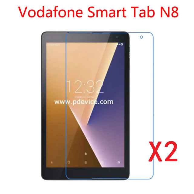 2Pcs/Lot Ultra Clear Screen Protector Film Anti-Fingerprint Protective Film For Vodafone Smart Tab N8 Alcatel A3 10.1\