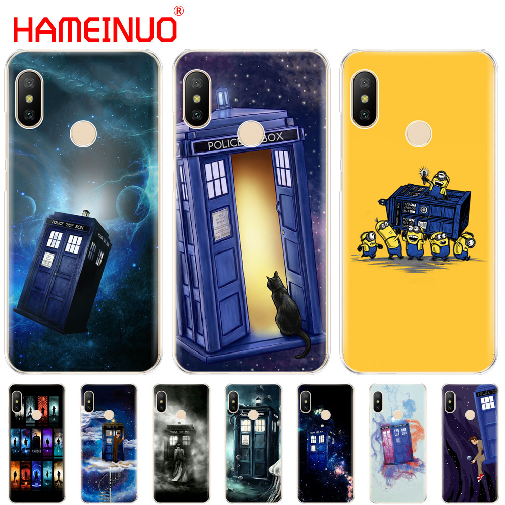 Phone Bags & Cases Candid Hameinuo Tardis Box Doctor Who Cover Case For Xiaomi Mi 8 Se A2 Lite Redmi 6 6a 6 Pro Note 6 Pro Pocophone F1 For Redmi S2 Sophisticated Technologies