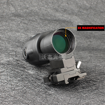 التكتيكية الصيد 3X بندقية نطاقات Airsoft هولوغرافيتشه تلسكوب نطاق 20 مللي متر السكك الحديدية Chasse Caza Luneta الفقرة بندقية البصريات