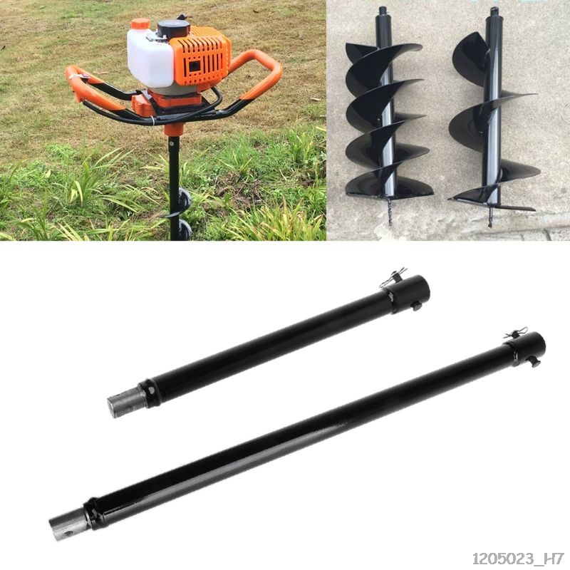 30/50cm Extension Auger Bit Extended Length Drill Bits For Hole Digger Earth Augers Plant Garden Tool