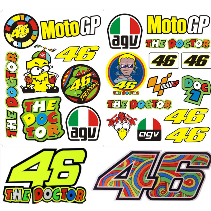 Online Buy Wholesale 46 rossi stickers from China 46 rossi ... Valentino Rossi The Doctor Font