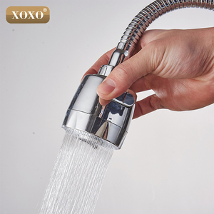 Image 5 - XOXO Brass mixer tap cold and hot water kitchen faucet  kitchen sink tap Multifunction shower Washing machine 2262