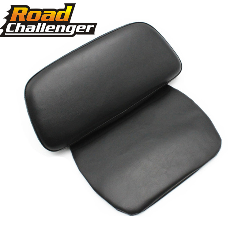 For Harley Touring Road Glide King FLHR FLT 2014 2015 2016 2017 2018 Motorcycle Parts Tour Pak Backrest Pillow Pad Leather
