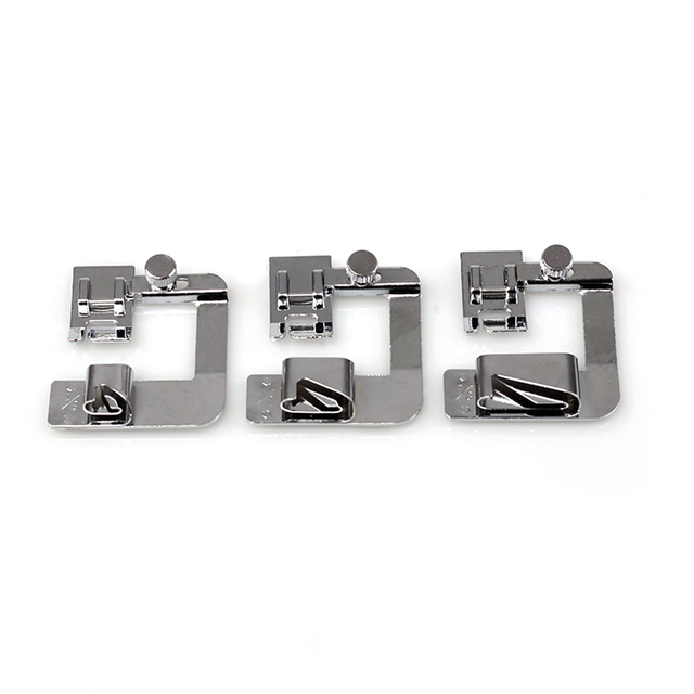 3 Pcs Rolzoom Naaivoet Set Naaimachine Naaivoet 4/8 8/8 6/8 voor Low Shank Naaimachine BabyLock