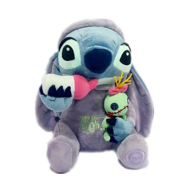 1 unids/lote Lilo y Stitch juguetes de 26 cm Stitch de la muñeca del regalo de cumpleaños de la muñeca del estilo del bebé juguete