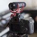 Rode vmgo ir ligero de vídeo micrófono micrófono de cañón para canon nikon sony dslr dv videocámara a prueba de golpes, para pro vlogging