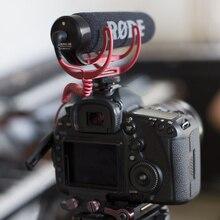 Ulanzi VMGO IR Ligero de Vídeo Micrófono Rode Micrófono de Cañón para Canon Nikon Sony DSLR DV Videocámara A Prueba de Golpes, Para Pro Vlogging