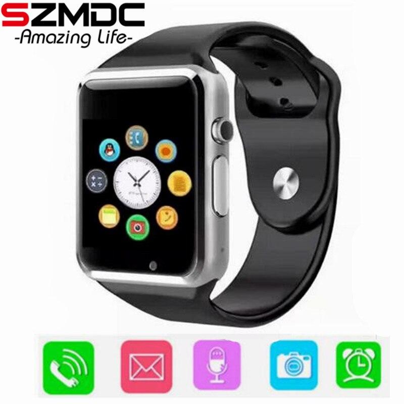 A1 kind Smart Uhr Mit Passometer Kamera SIM TF Karte Anruf Smartwatch Für Xiaomi Huawei HTC Android Telefon Besser Als y1 DZ09