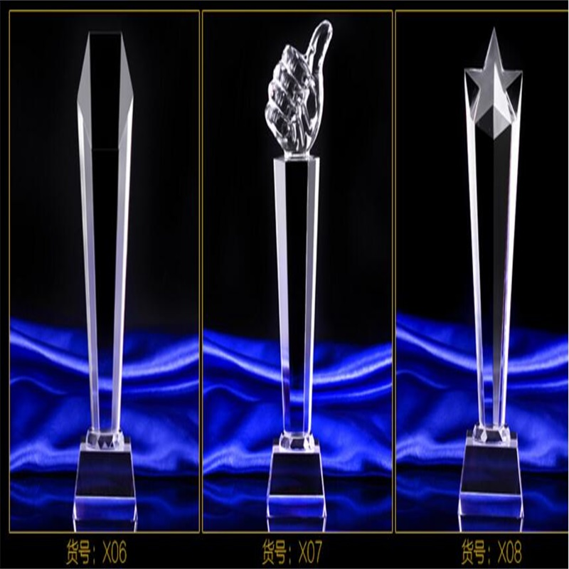 Customized 25cm K9 Crystal trophy cup Prize Trophies Encourage Souvenirs customized crystal trophy engraved logo or words sports souvenirs grammy award glass champions rewards league cup